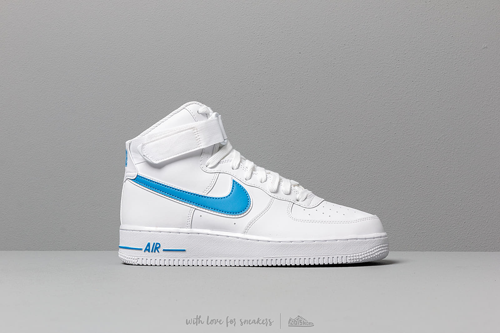 4bf58742cb4 Nike Air Force 1 High '07 3 White/ White-Photo Blue | Footshop