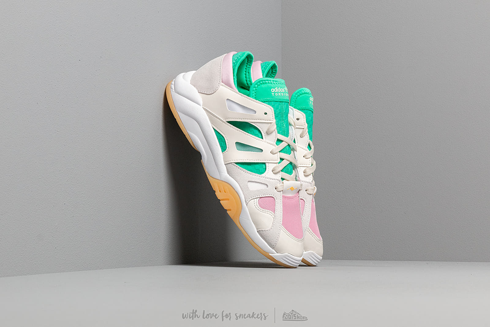Pánské tenisky a boty adidas Dimension Low Top Cloud White/ Off White/ Hi-Res Green