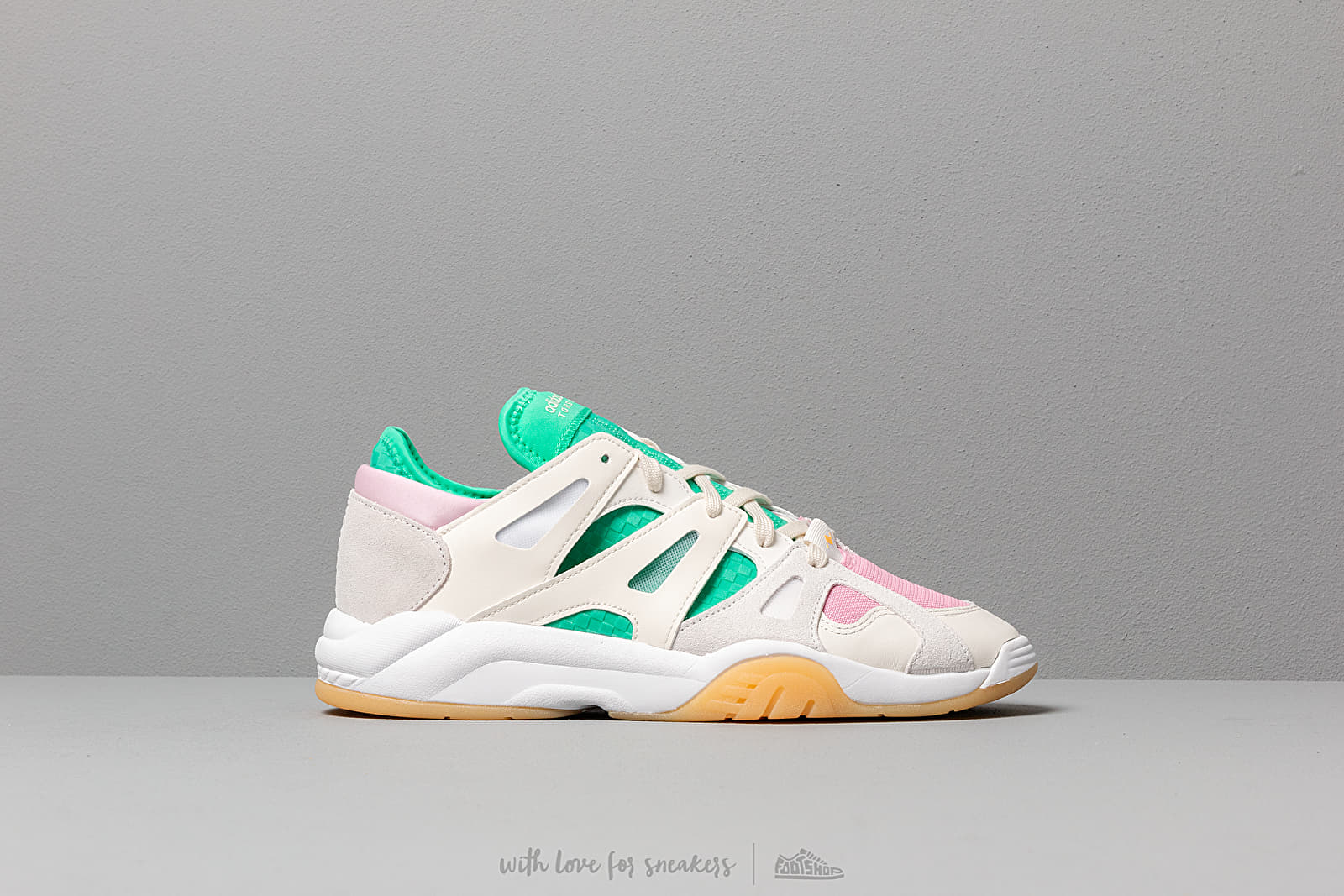 White Adidas Cloud Off Hi Res Dimension Top GreenFootshop Low DHE29IWY