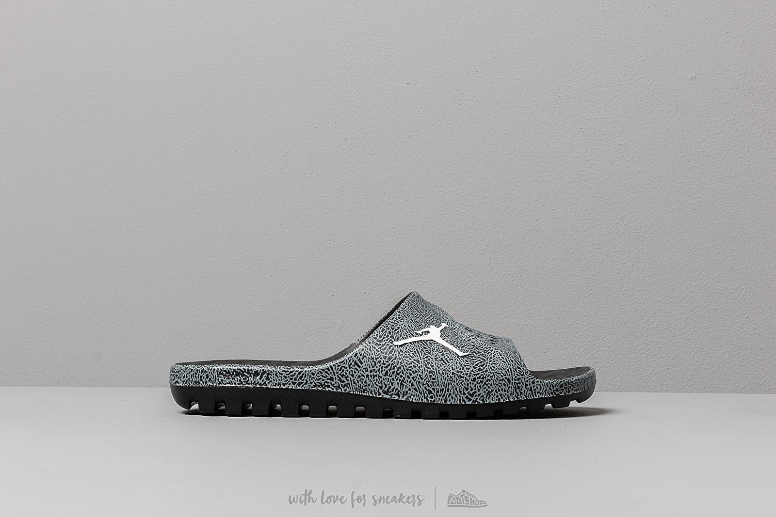 426ee16a66b3 Jordan Super.Fly Tm Sld 2 Grpc Black  White-Cool Grey at a