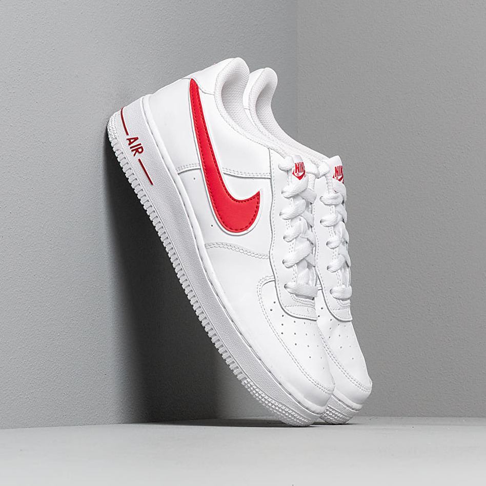 Nike Air Force 1-3 (GS) White/ Gym Red EUR 36