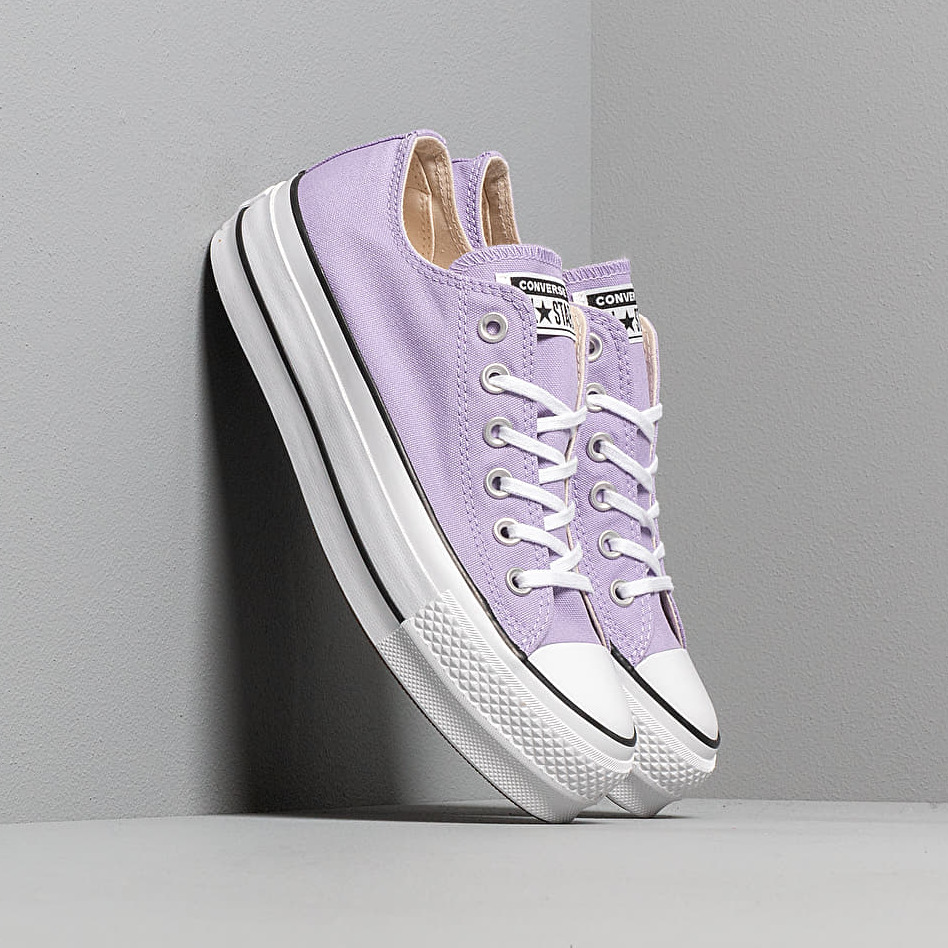 Converse Chuck Taylor All Star Lift Washed Lilac/ Black/ White
