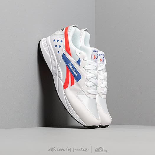 shoes Reebok Pyro White/ Neon Red/ Cobalt