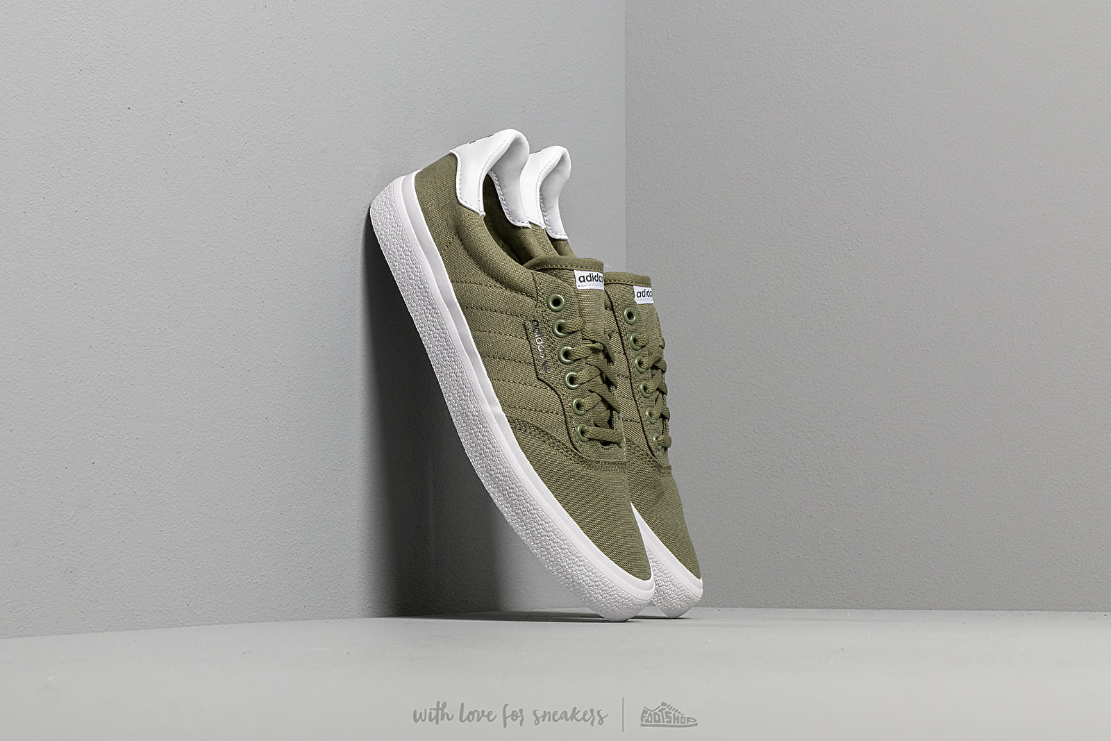 look out for detailed images discount sale adidas 3MC Raw Khaki/ Raw Khaki/ Ftw White | Footshop