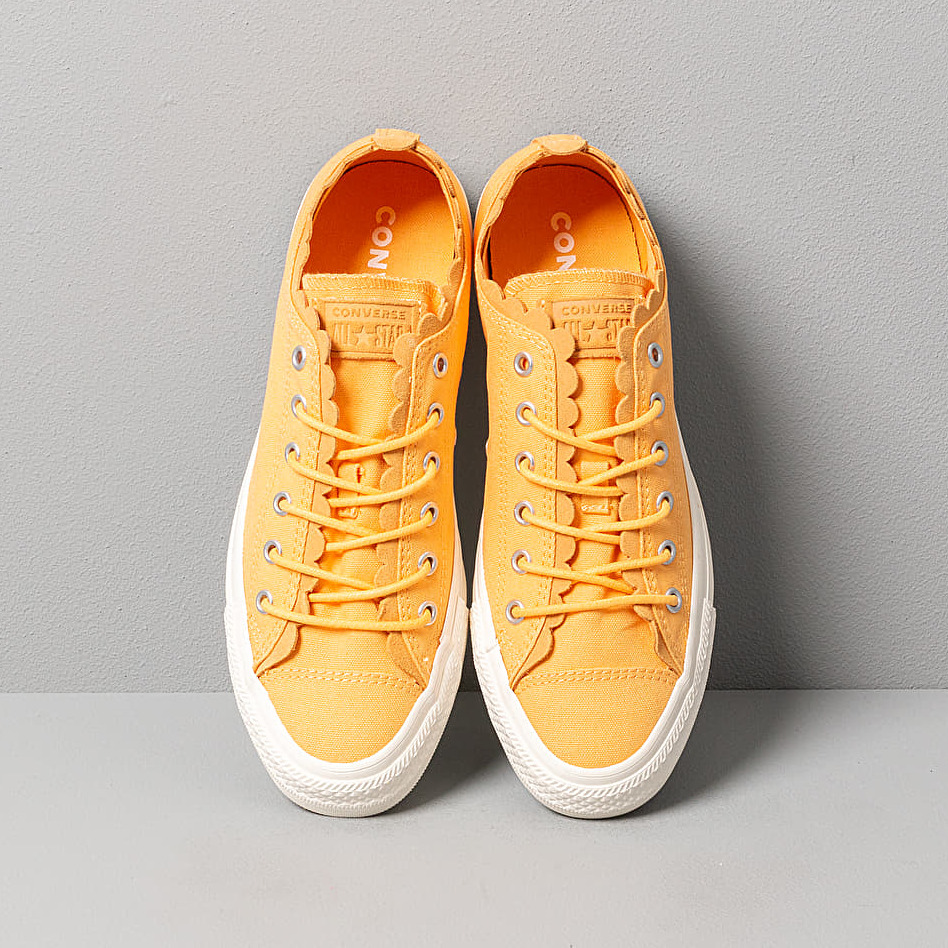 Converse Chuck Taylor All Star - Scallop Melon Baller/ Melon Baller, Yellow