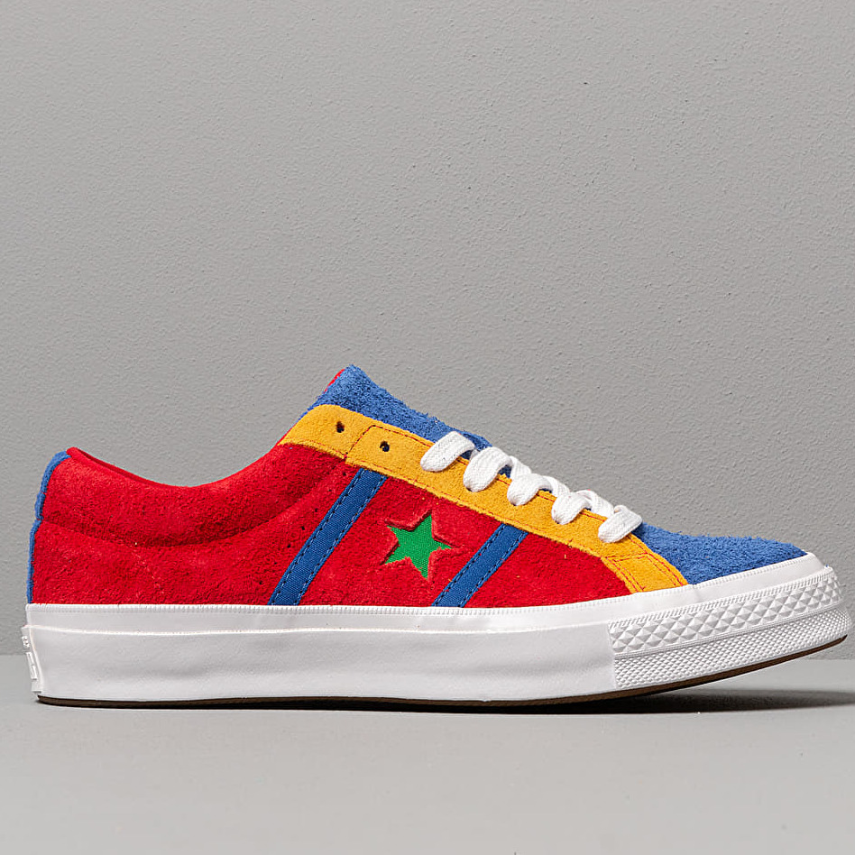 Converse One Star Academy Enamel Red/ Blue/ White, Multicolour