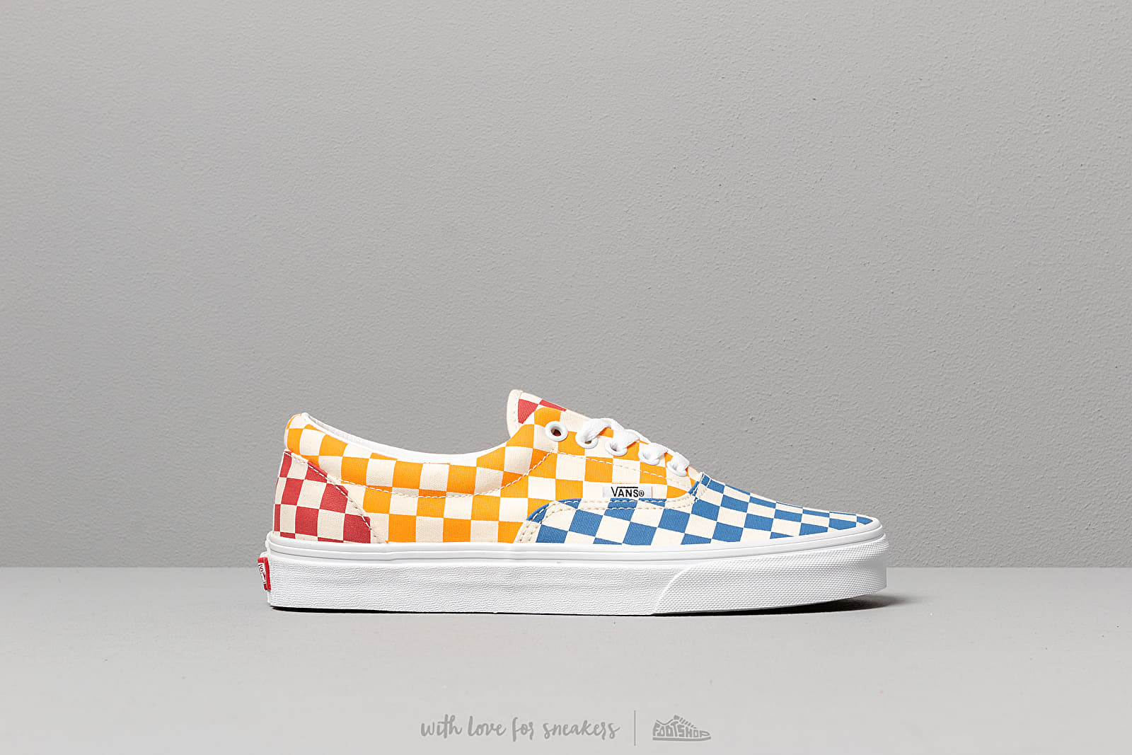 Vans Era (Checkerboard) Multi/ True White | Footshop