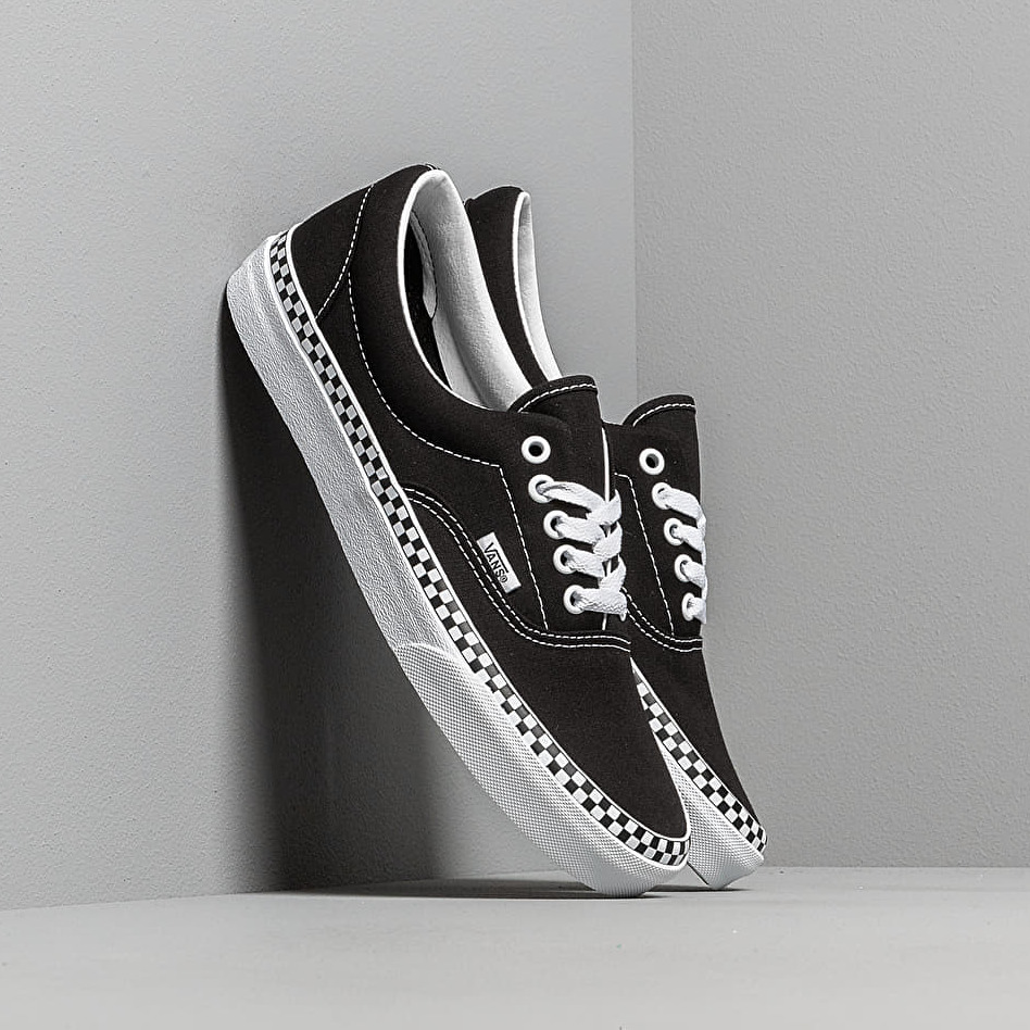 Vans Era (Check Foxing) Black/ True White EUR 42.5
