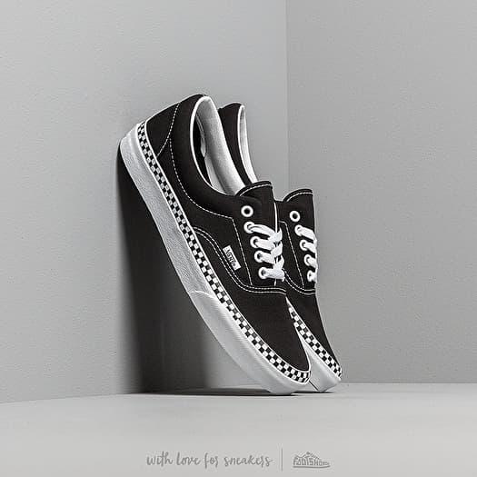shoes Vans Era (Check Foxing) Black