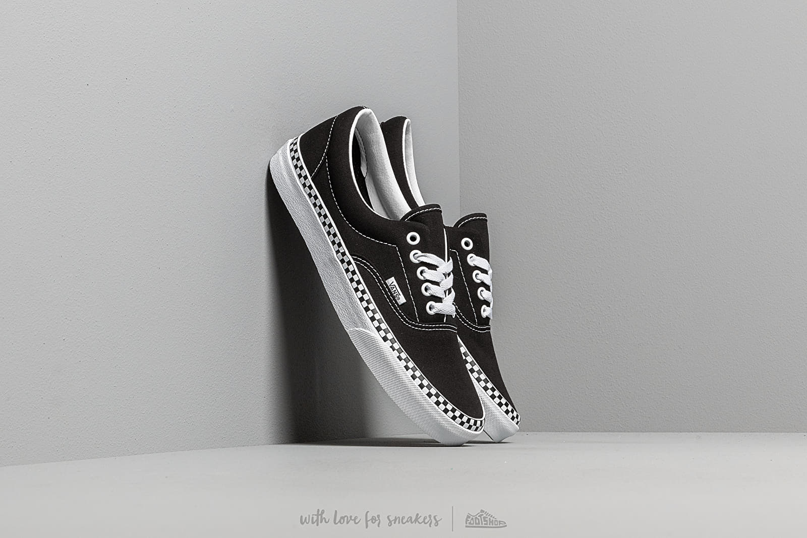Vans Era (Check Foxing) Black/ True White at a great price 62 € buy at Footshop