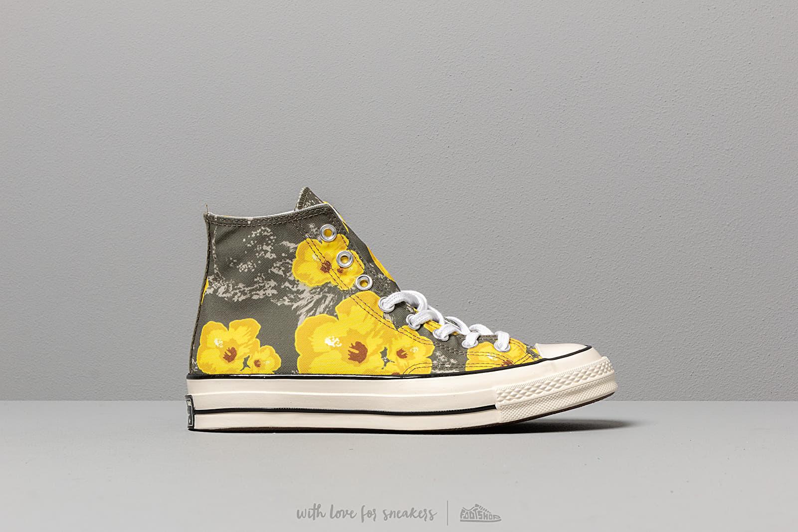 336aec4f5b522 Convers Chuck 70 Hi Field Paradise Floral Print Field Surplus  Fresh Yellow au  meilleur prix