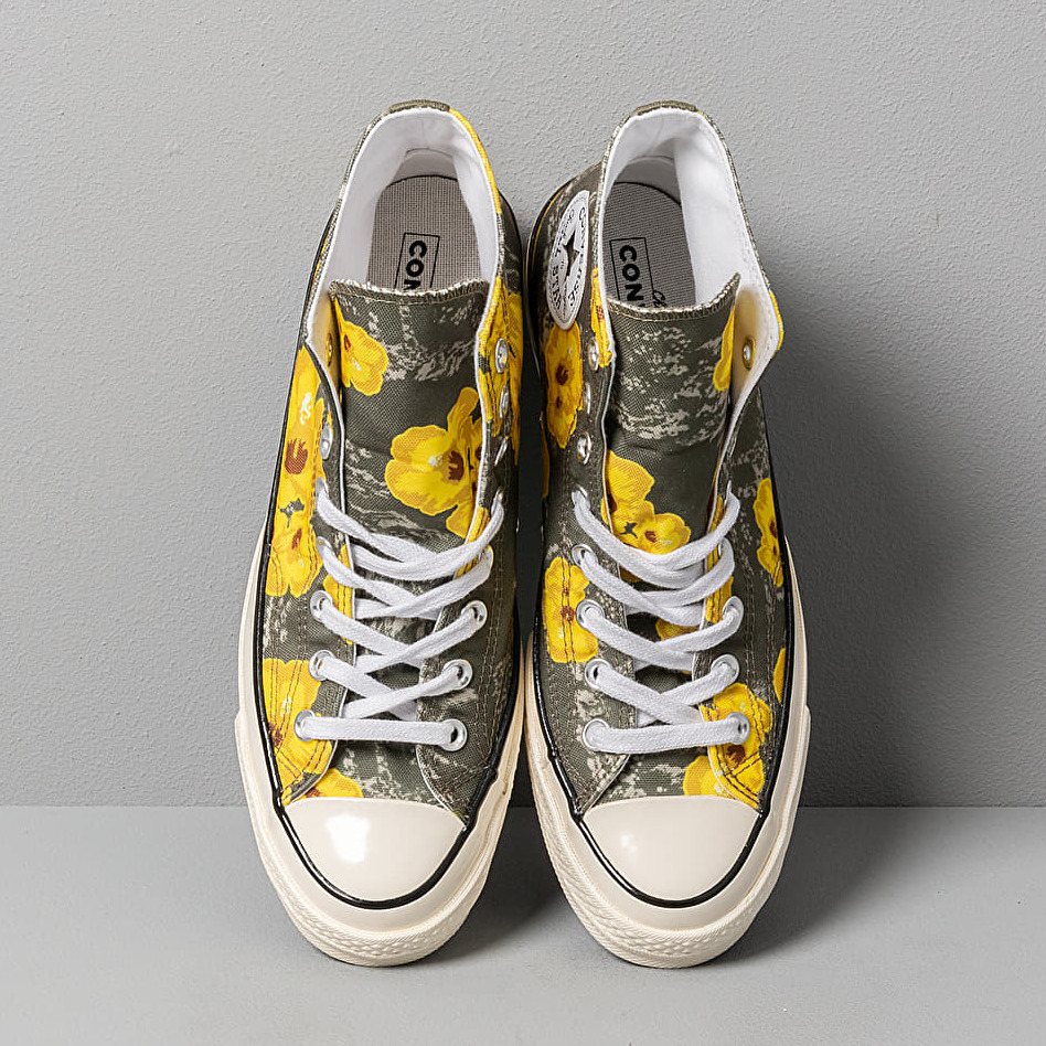 Convers Chuck 70 Hi Field Paradise Floral Print Field Surplus/ Fresh Yellow, Multicolour