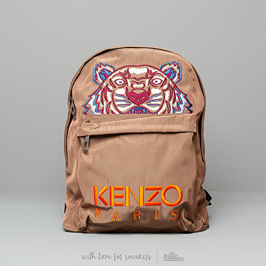 40f597bcd KENZO Large Tiger Canvas Backpack