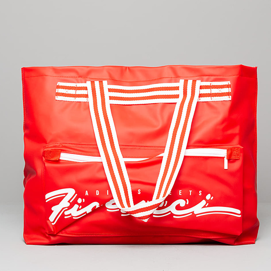 adidas x Fiorucci Stripe Tote Bag Red White