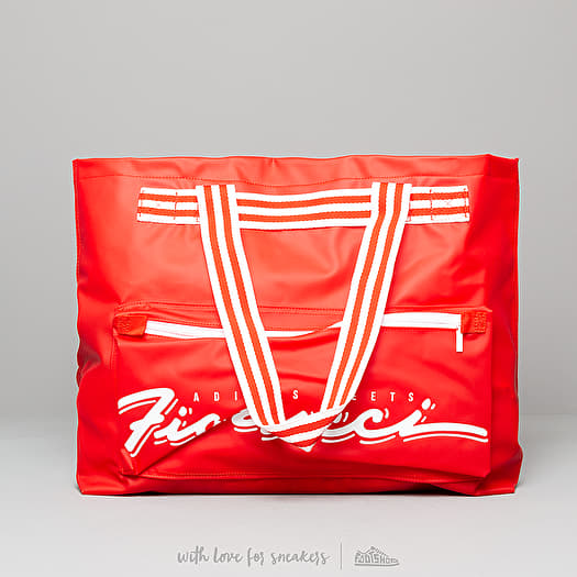 Arsenal Permitirse yo lavo mi ropa  Bolsas deportivas y de viaje adidas by Fiorucci Stripe Tote Bag Red/ White