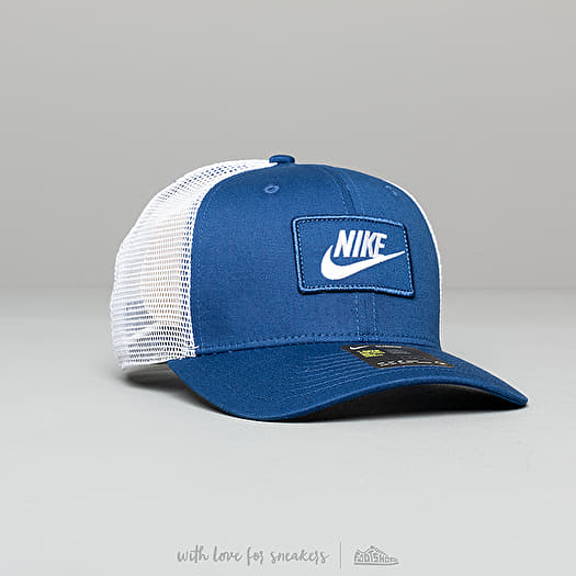 top quality sale online new images of Nike Sportswear Classic 99 Trucker Cap Blue/ White | Footshop