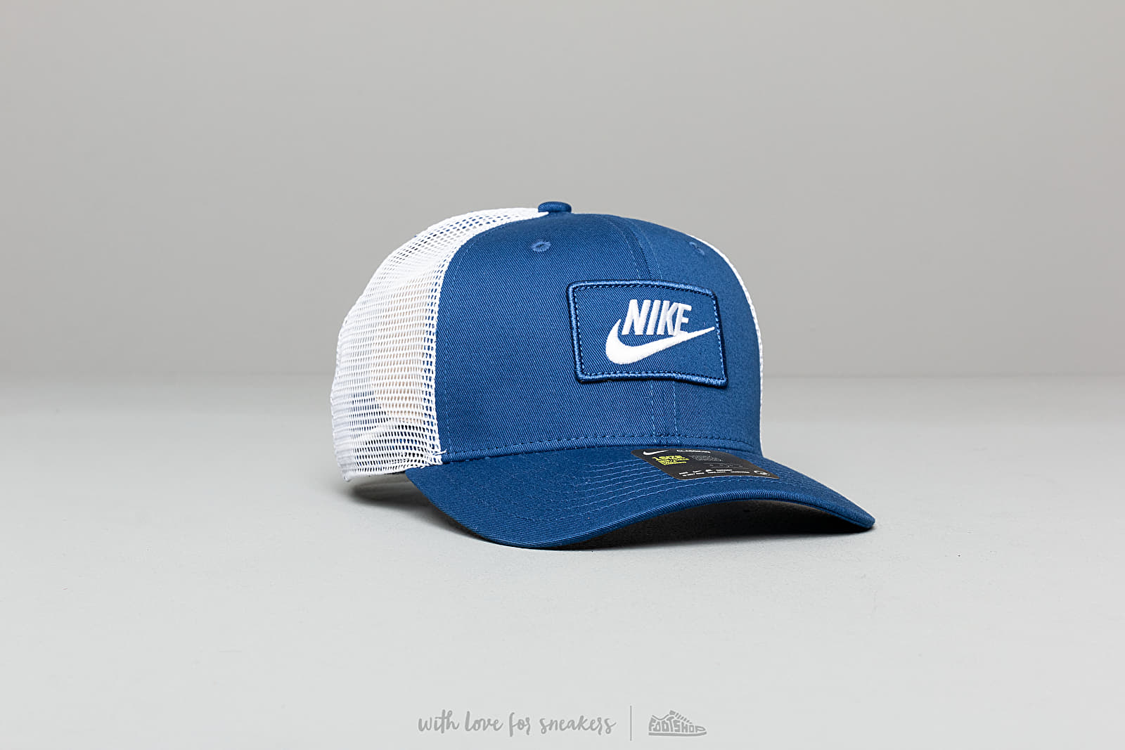 309afbc5ac547 Nike Sportswear Classic 99 Trucker Cap Blue  White at a great price  30 buy  at