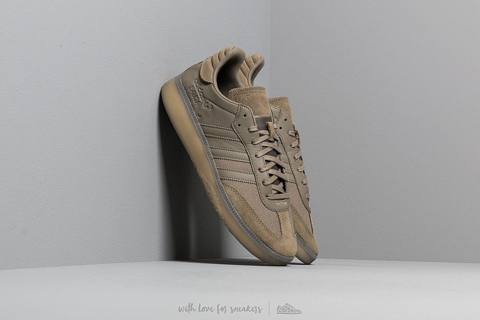 81abff15e2d2 adidas Samba Rm Simple Brown/ Simple Brown/ Grey Four | Footshop