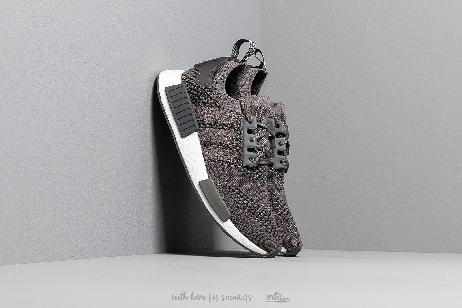 Men's shoes adidas NMD_R1 Primeknit Ash/ Ash/ Grey Five