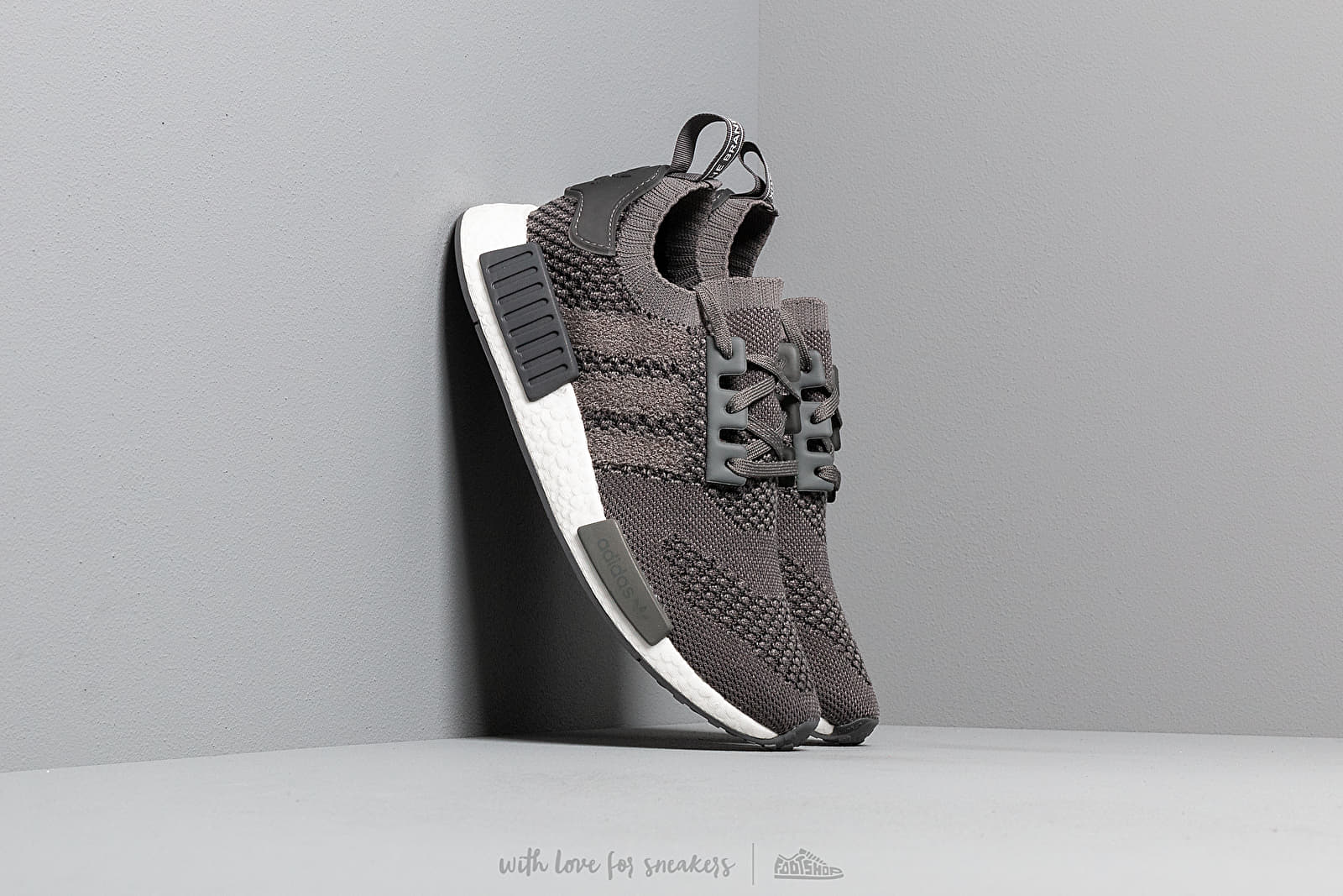 adidas NMD_R1 Primeknit Ash/ Ash/ Grey Five at a great price $194 buy at Footshop