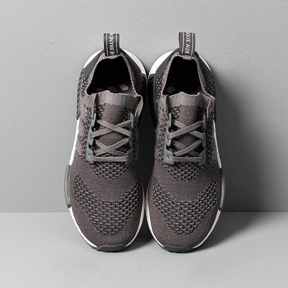 adidas NMD_R1 Primeknit Ash Ash Grey Five, Gray footshop