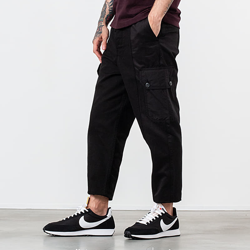 Alexandre Mattiussi Patchwork Oversized Carrot Fit Trousers Black