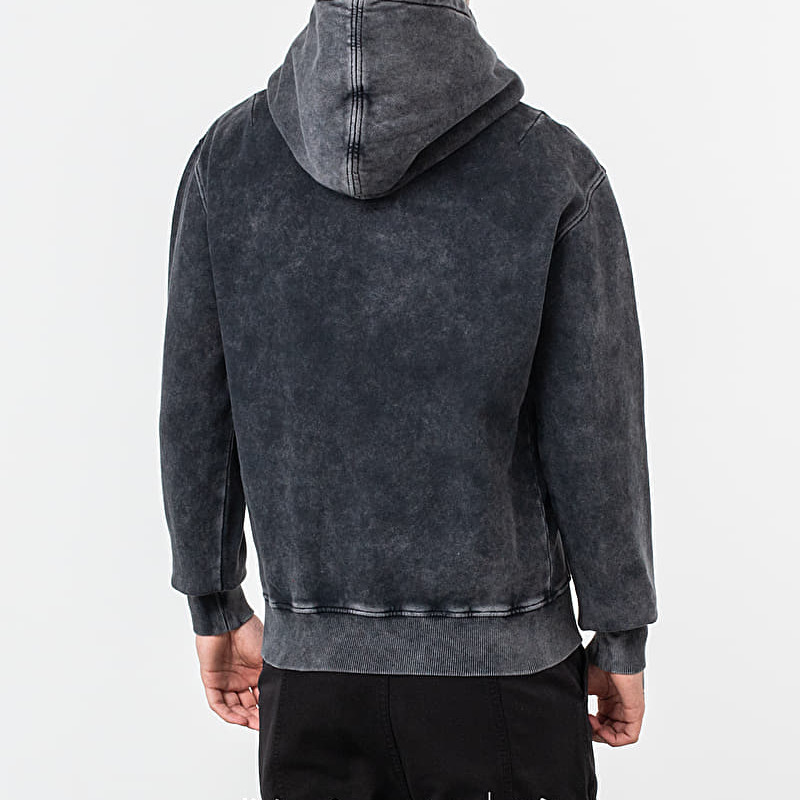Alexandre Mattiussi Vintage Washed Hoodie Black