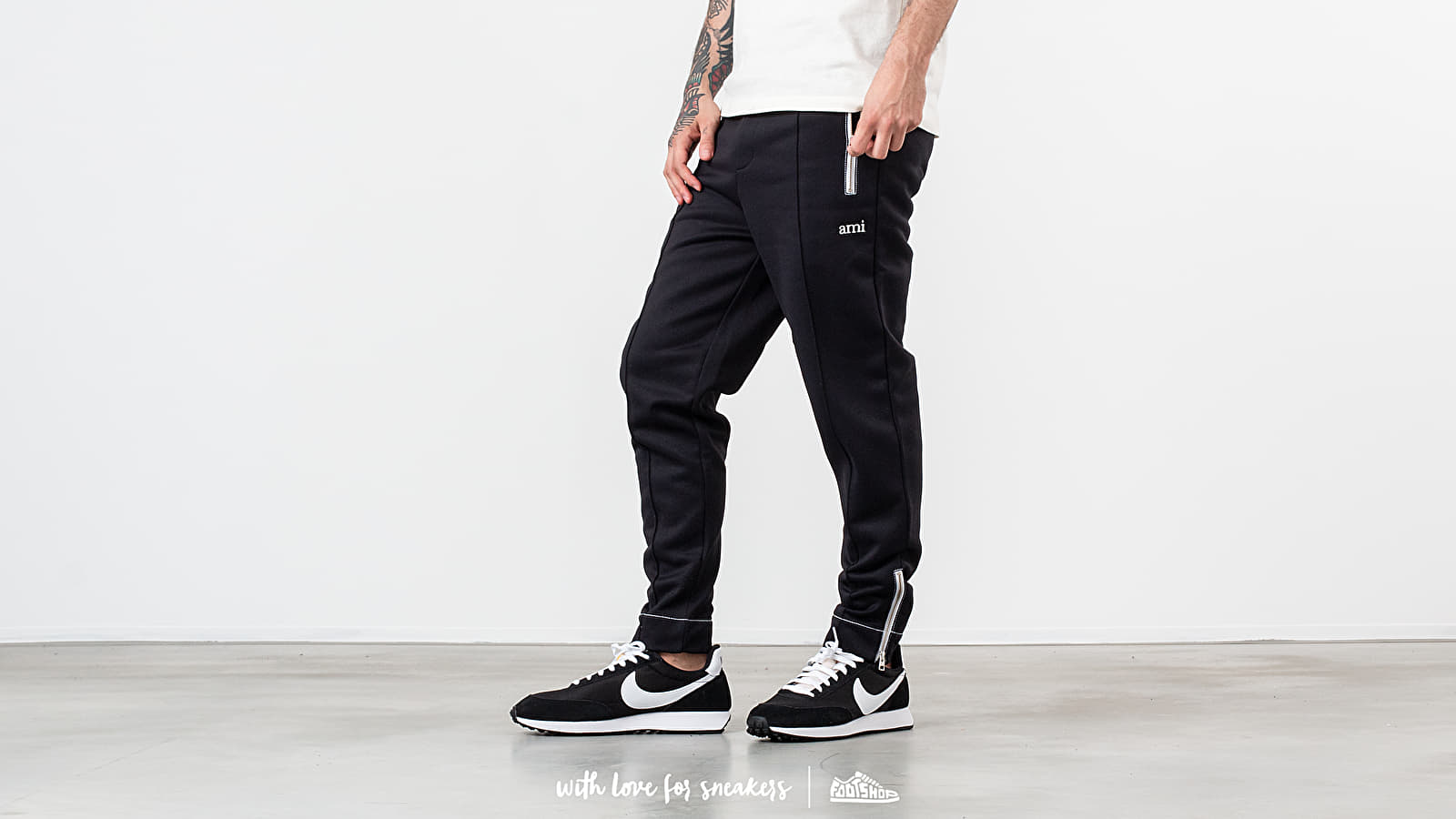 Alexandre Mattiussi Trackpants Black at a great price 200 € buy at Footshop