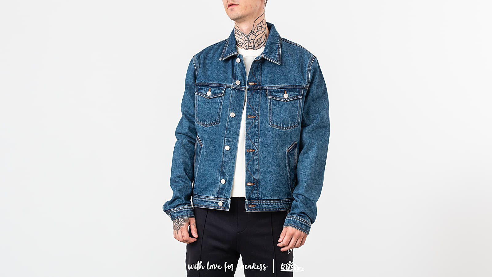 Alexandre Mattiussi Denim Jacket Washed Blue at a great price 251 € buy at Footshop