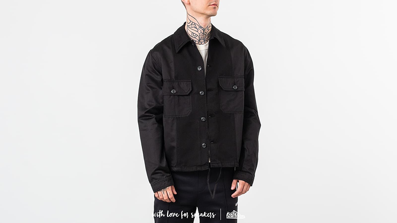 Giacche Alexandre Mattiussi Patchwork Jacket Black