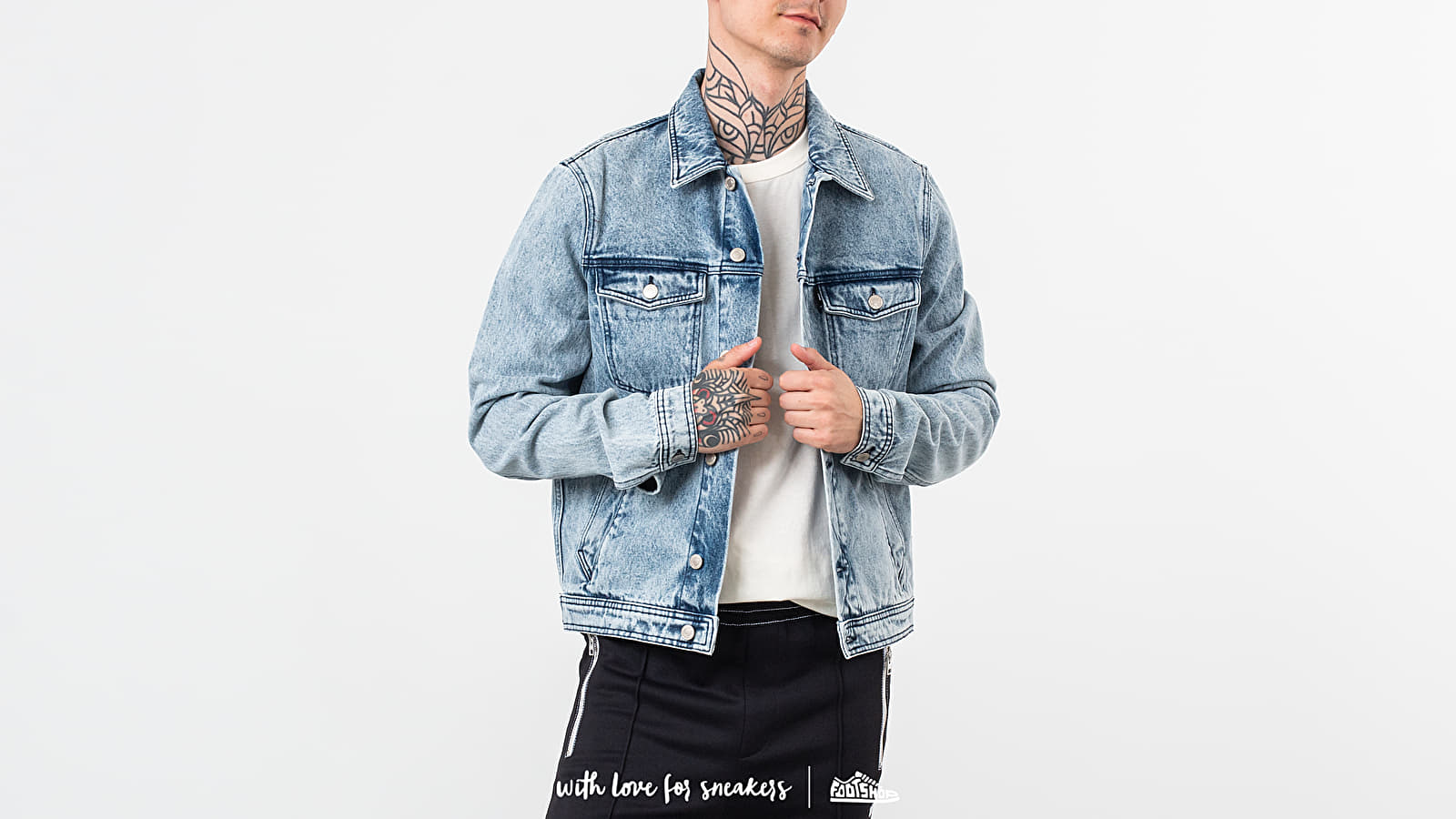 Alexandre Mattiussi Denim Jacket Washed Blue at a great price 275 € buy at Footshop
