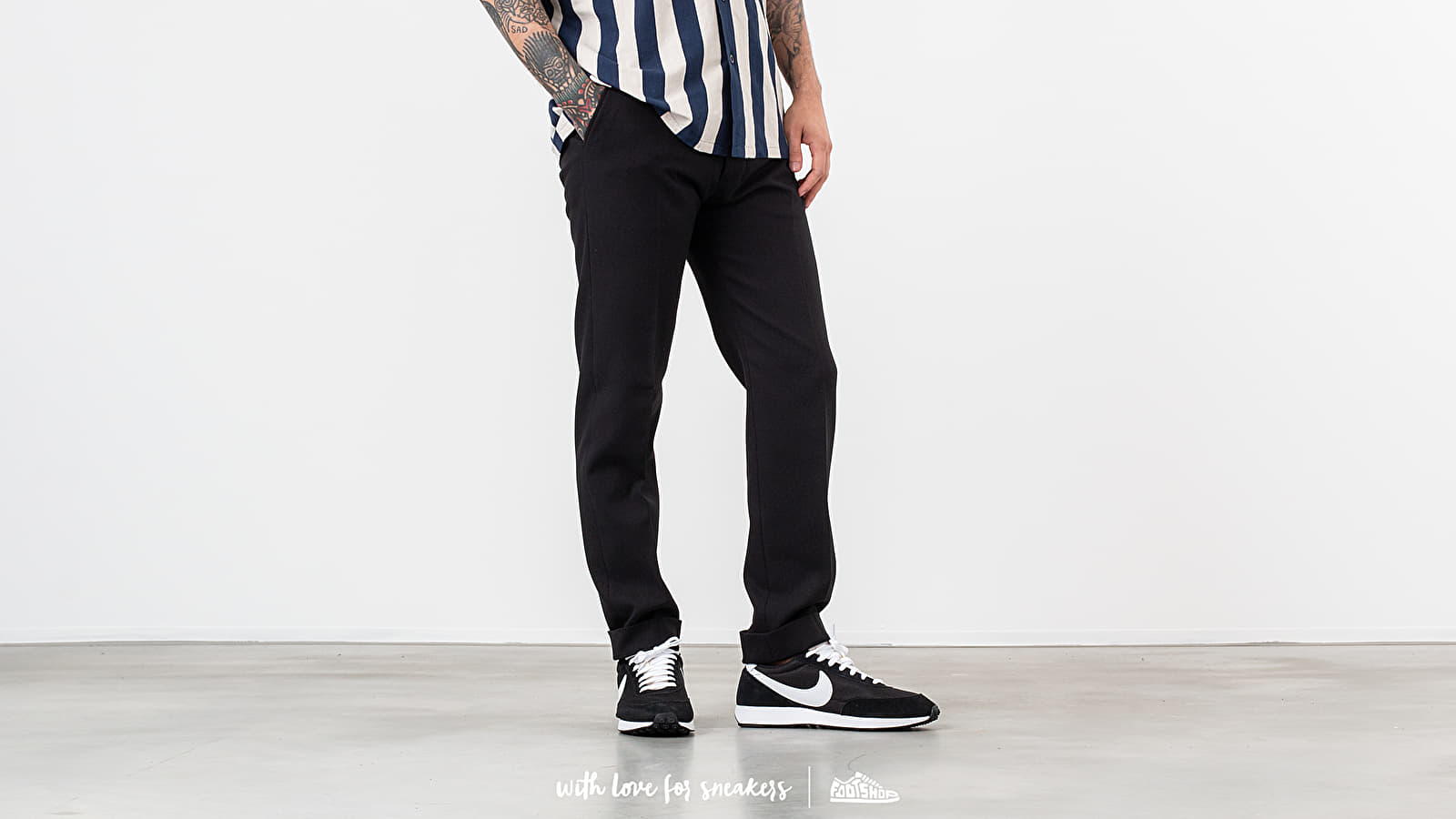Alexandre Mattiussi Straight Fit Pants Black at a great price 275 € buy at Footshop