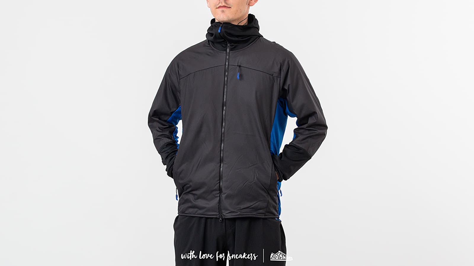 Větrovky adidas x White Mountaineering Terrex Fast And Light Jacket Black