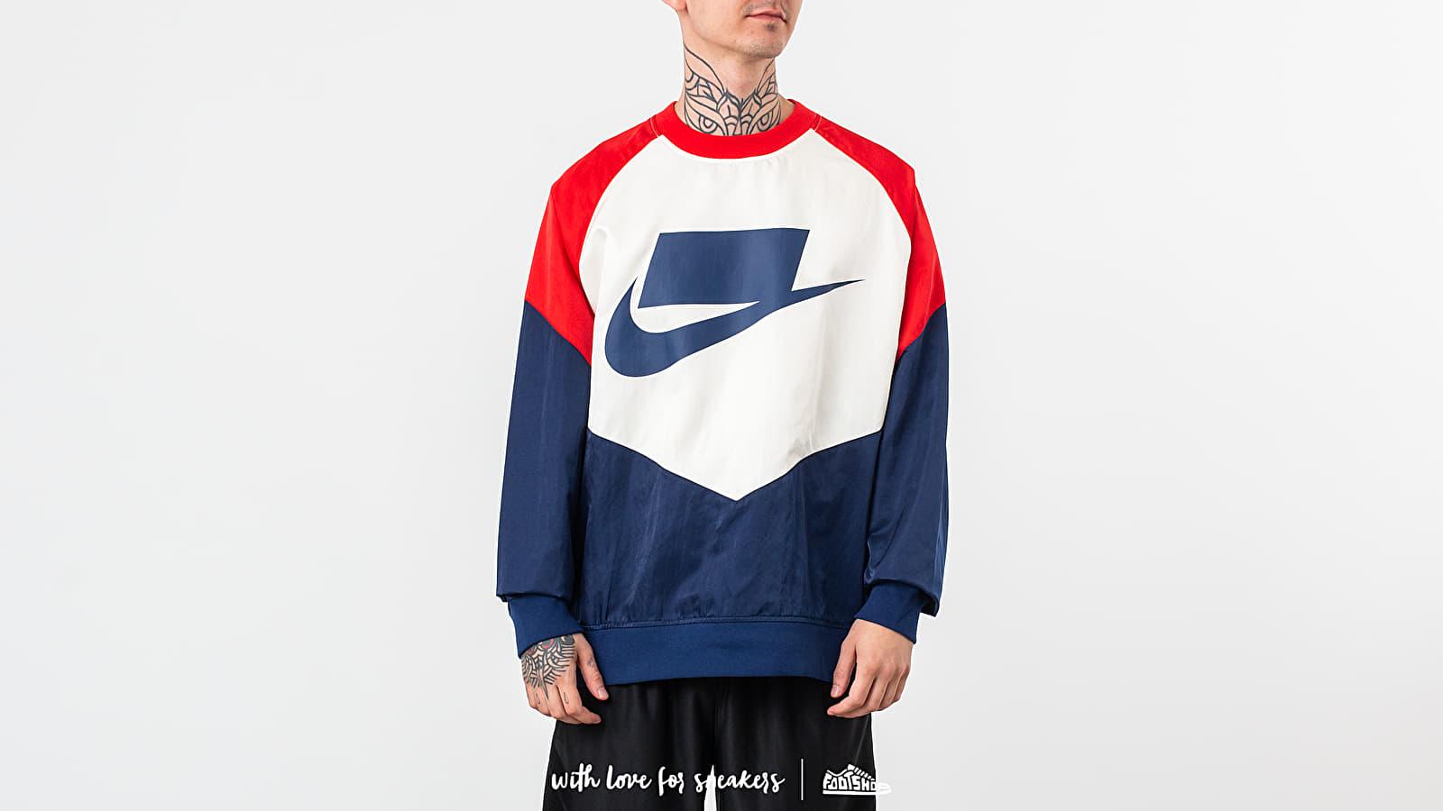 Nike Sportswear Woven Crewneck