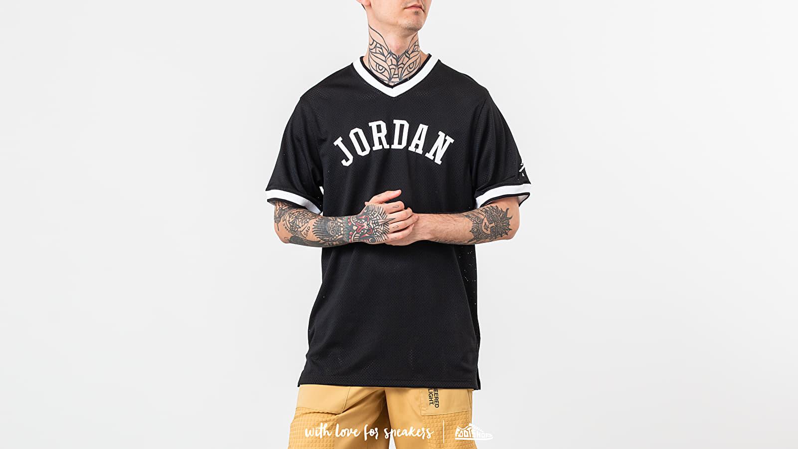 casete habilitar Apropiado  T-shirts Jordan Jumpman Air Mesh Jersey Black | Footshop