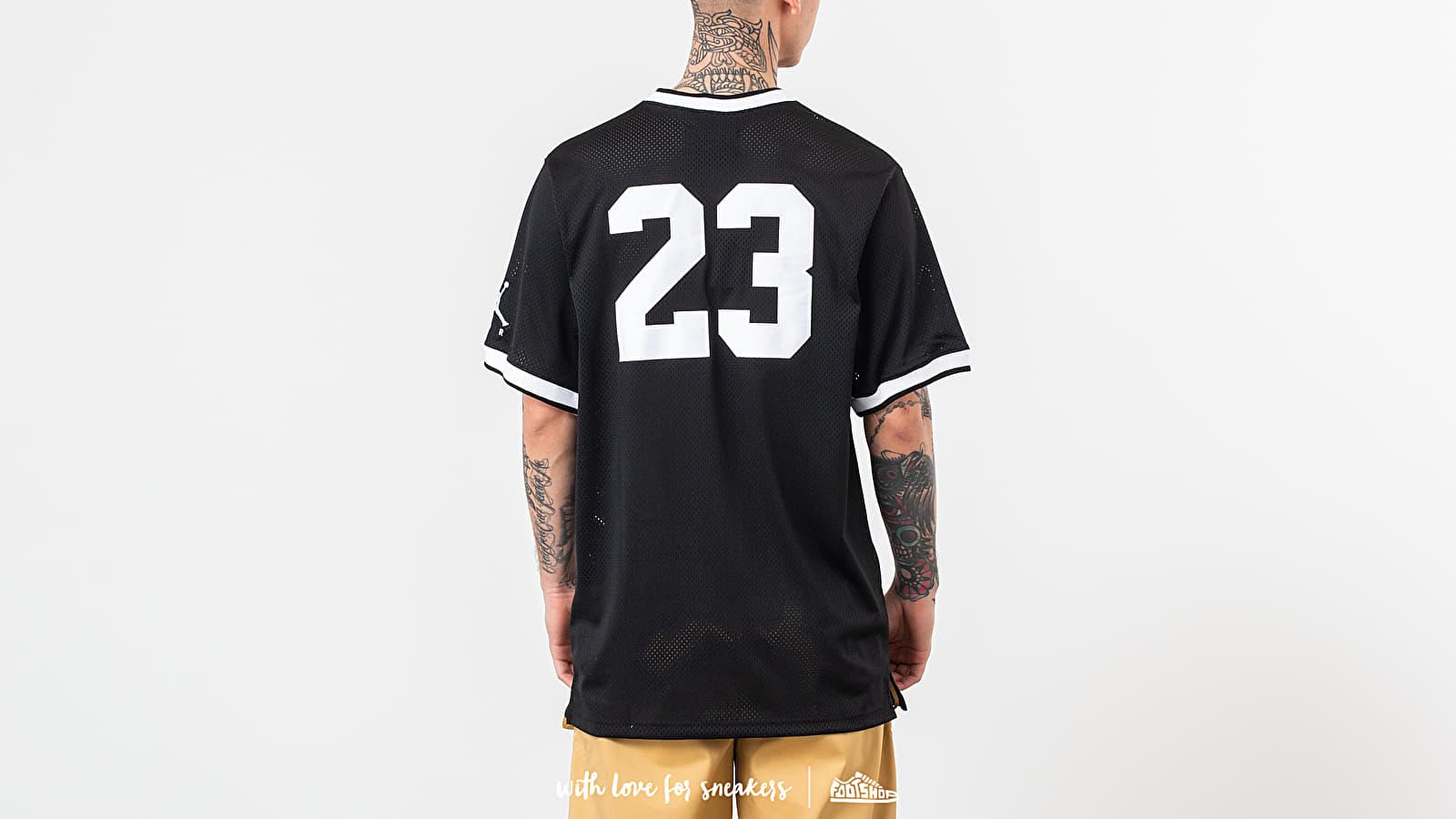 d960d7211ff6 Jordan Jumpman Air Mesh Jersey Black at a great price 62 € bestell bei  Footshop