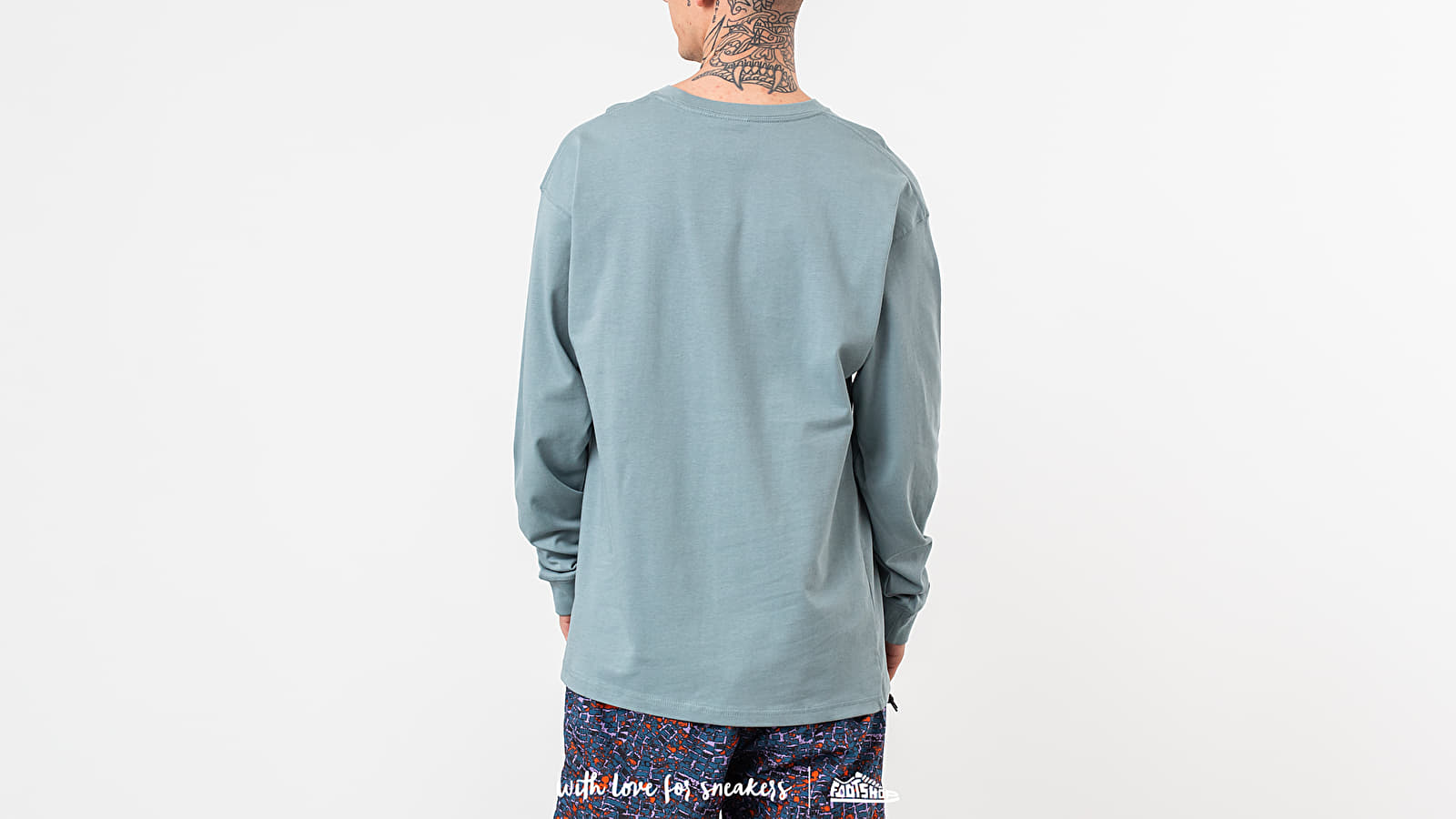 b17f23e8 Nike ACG Longsleeve Logo Tee Petrol at a great price $43 buy at Footshop