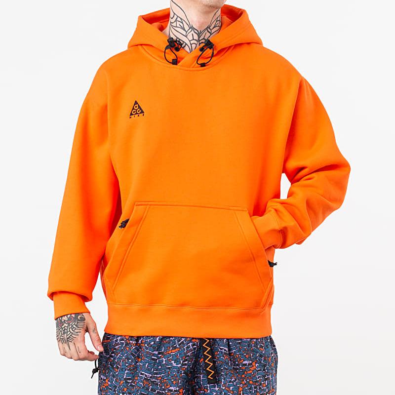 Nike ACG Logo Hoodie Orange