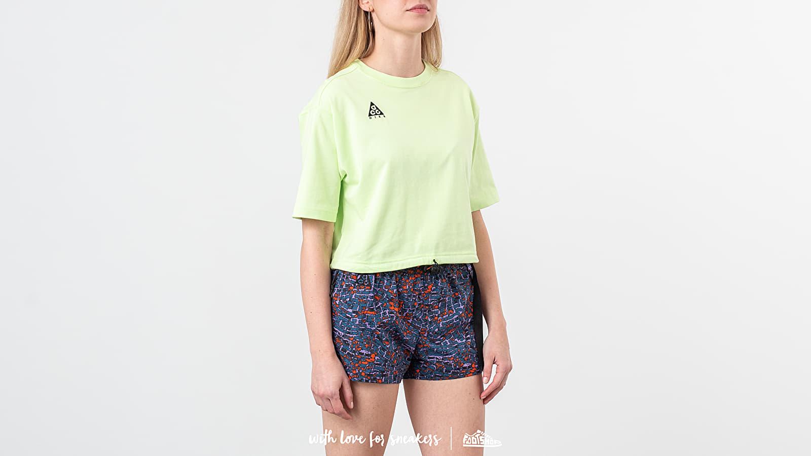 Camisetas Nike ACG Logo Tee Barely Volt