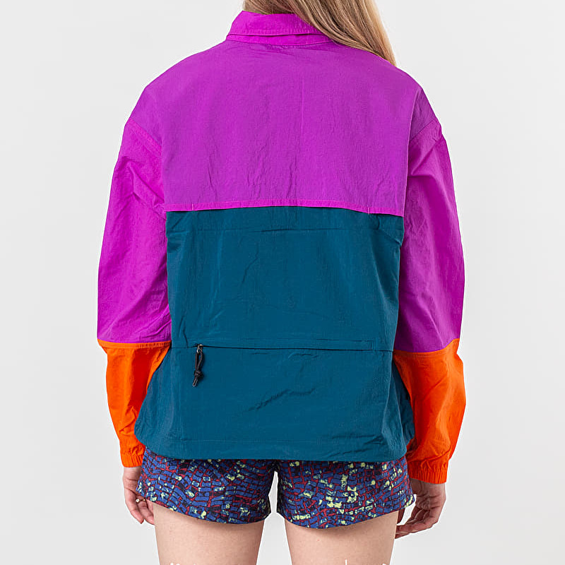 Nike NRG ACG Anorak Jacket Vivid Purple/ Blue Force/ Bleached Coral, Multicolour