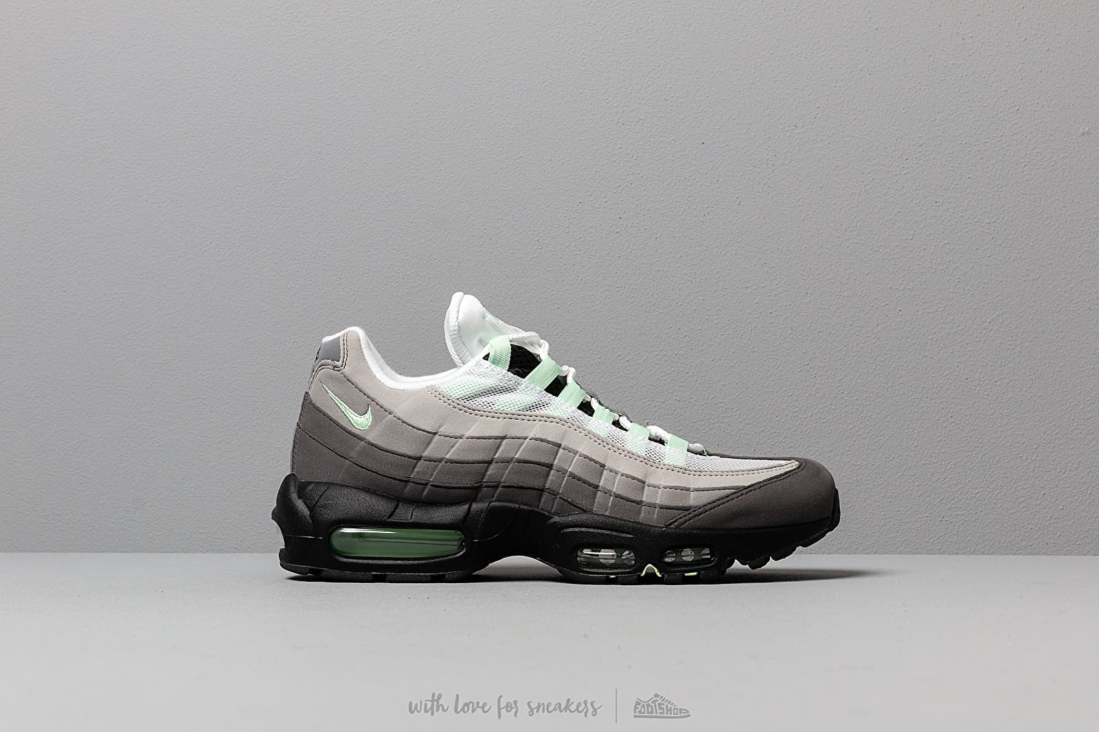 best sneakers 5739e 50552 Nike Air Max  95 White  Fresh Mint-Granite-Dust at a great