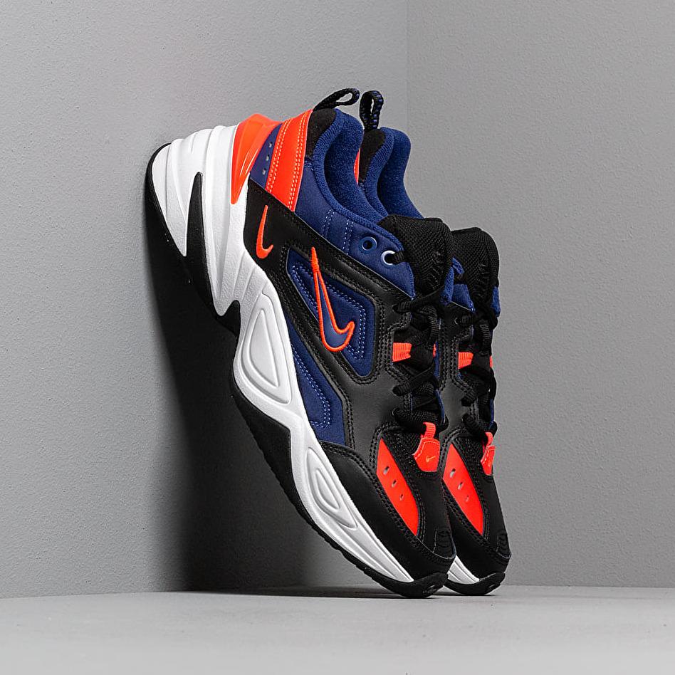 Nike M2K Tekno Black/ Deep Royal Blue-Bright Crimson EUR 43