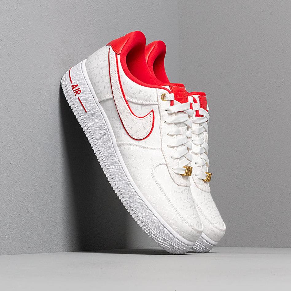 Nike Wmns Air Force 1 '07 Lx White/ University Red-White-White EUR 35.5
