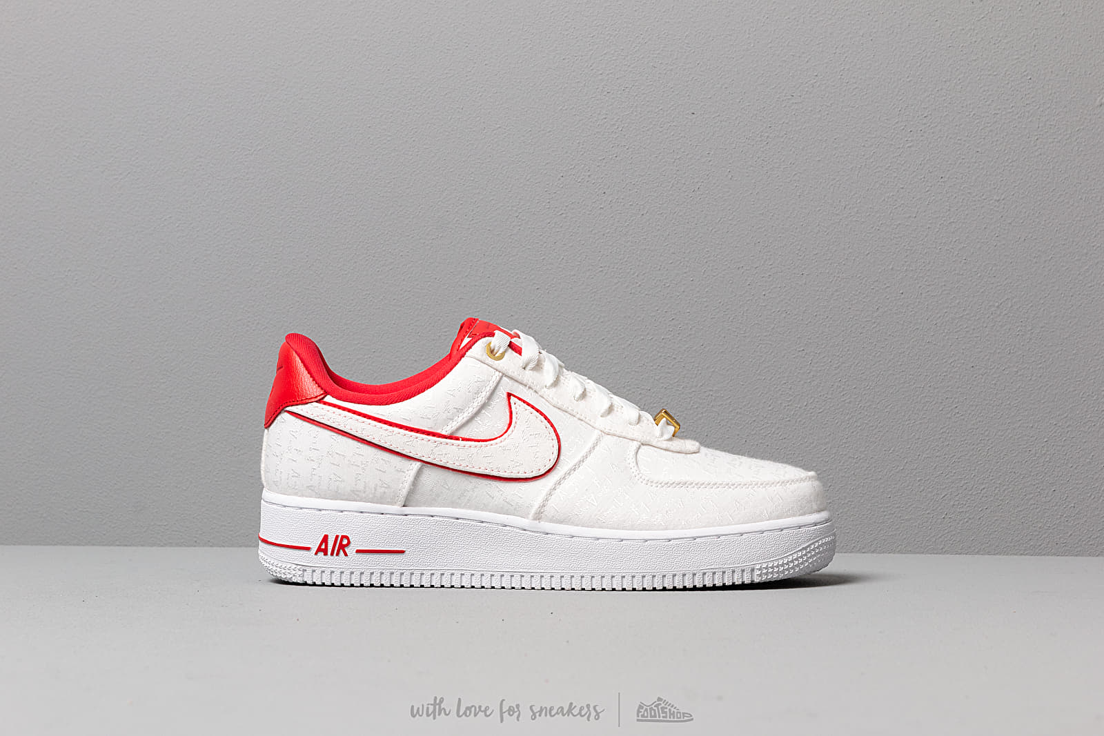 Nike Wmns Air Force 1 '07 Lx White University Red White White | Footshop