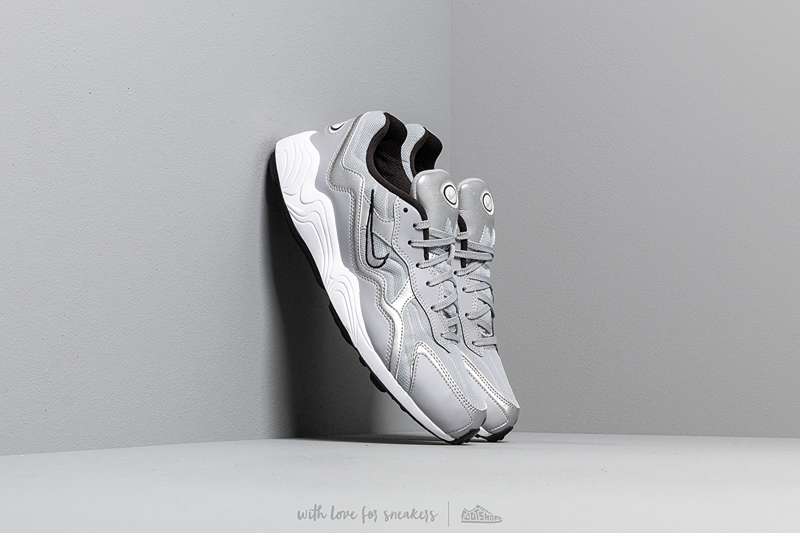 Мъжки кецове и обувки Nike Air Zoom Alpha Wolf Grey/ Wolf Grey-Metallic Silver