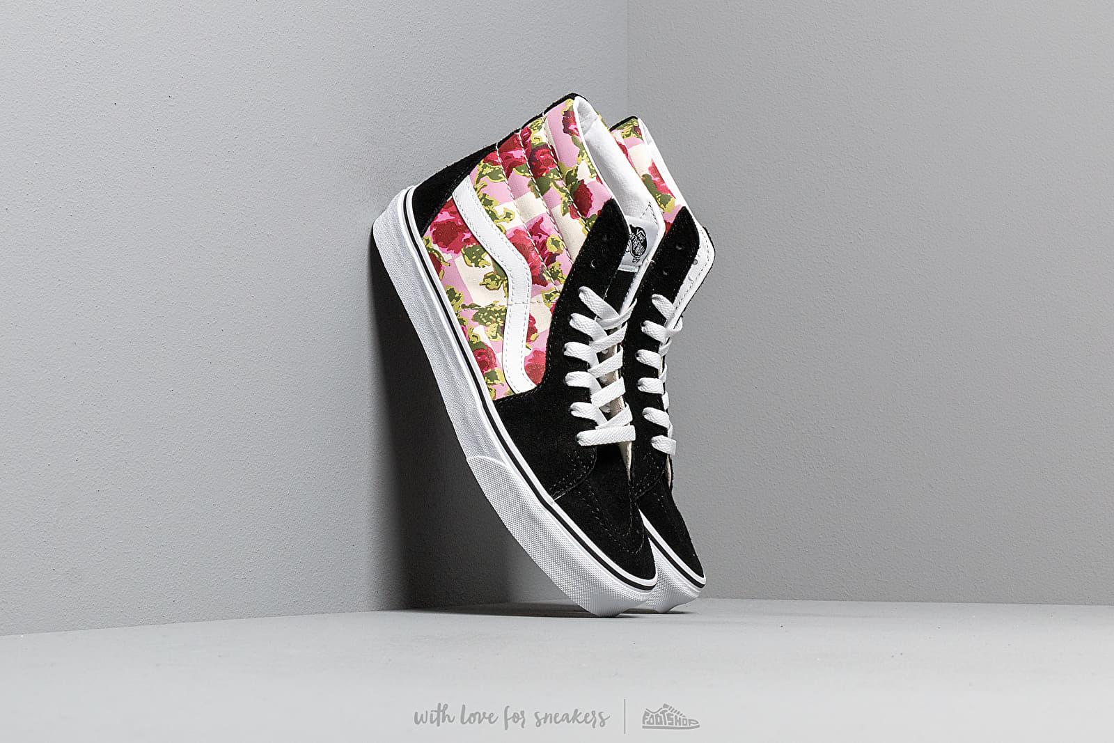 sk8 hi vans floral