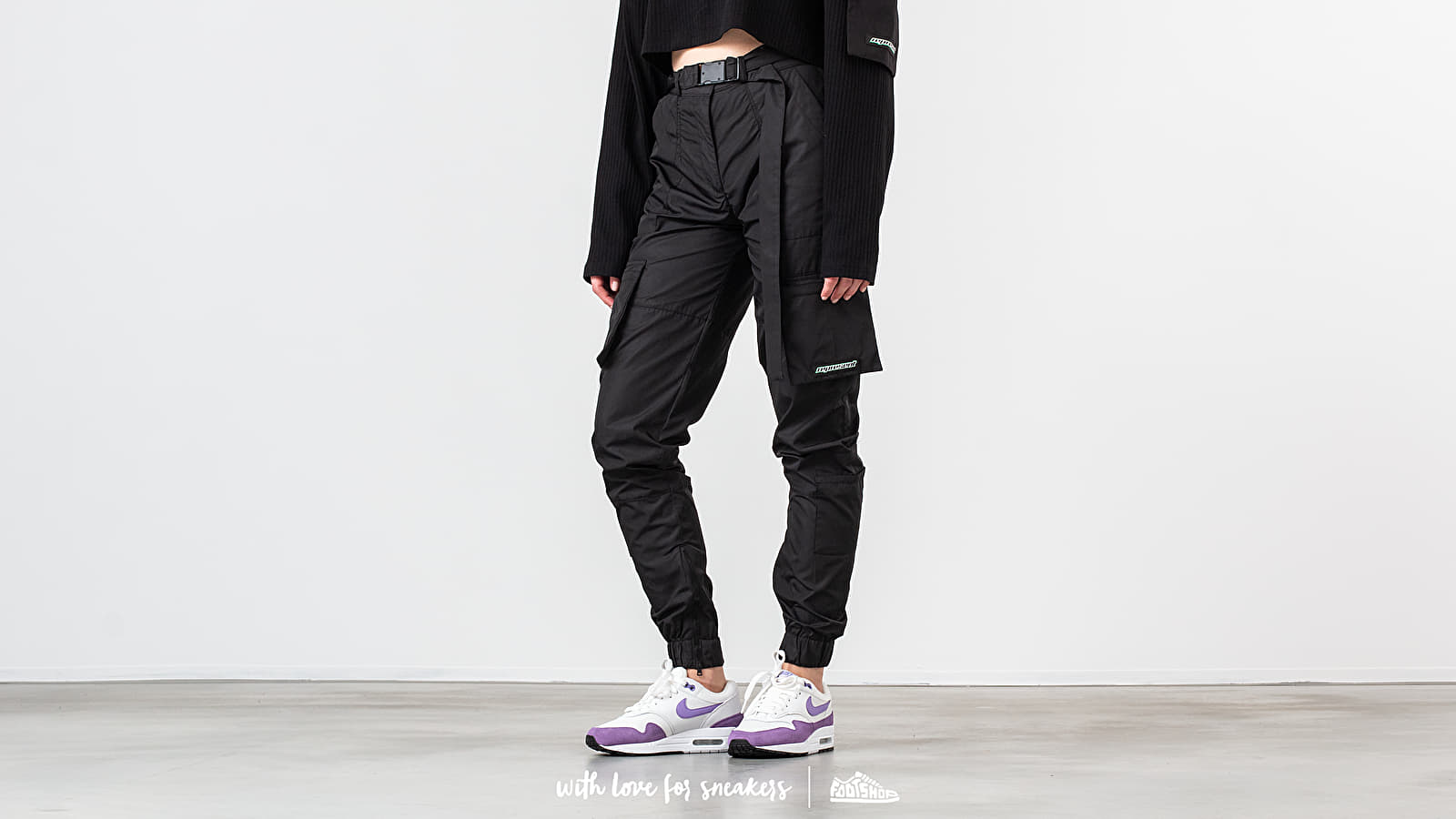 REPRESENT Technical Military Pants Black at a great price 194 € buy at Footshop