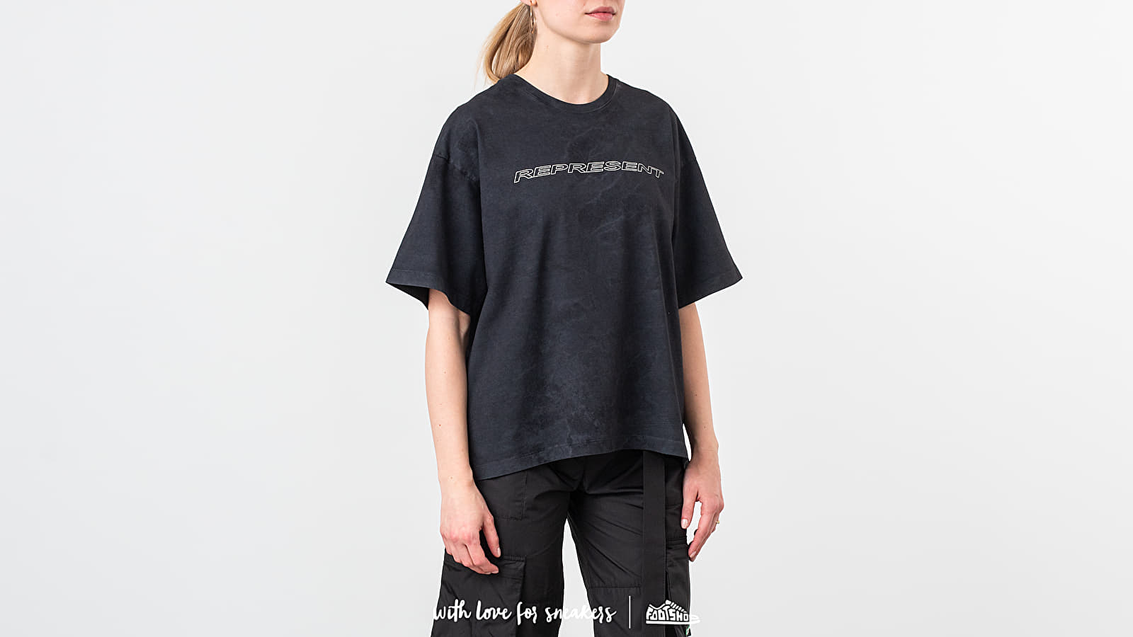 REPRESENT Racer Tee Washed Black at a great price 92 € buy at Footshop
