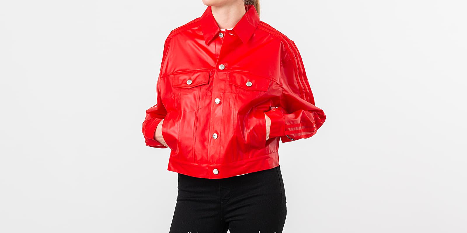 adidas x Fiorucci Kiss Jacket Red XS