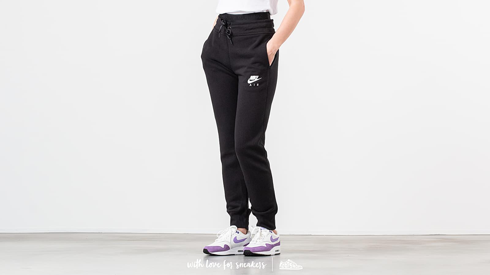 Nike Sportswear Air Fleece Pant Black/ White at a great price 51 € buy at Footshop